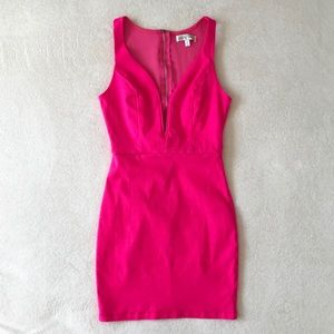 Jealous Tomato Hot Pink Mini Dress